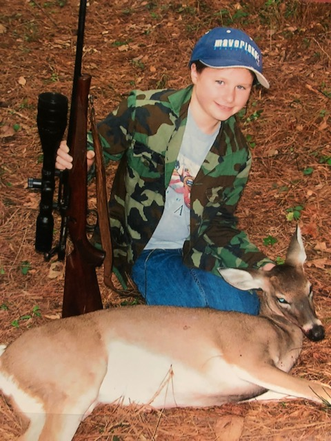 Abby's first deer